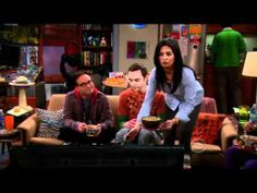 The Big Bang Theory -  Sheldon leaves his kick-ass party