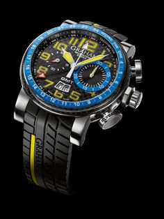 Graham Silverstone GMT Blue & Yellow for the weekends when I'm wearing shorts and flip-flops. :)
