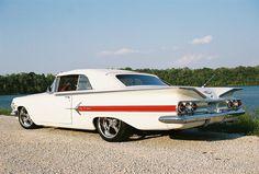 1960 Chevrolet Impala Ragtop,  Big front seats !