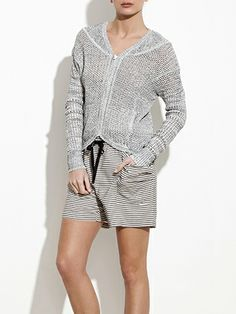 Colette Zip Up Cardigan, Theonne Spring 2014
