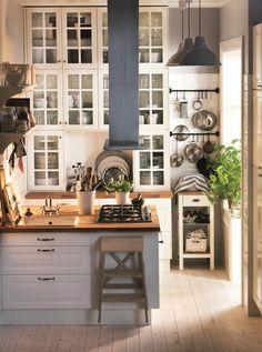 Good IKEA Mutfak: 7m2u0027de Dev Bir IKEA Mutfağı! | Mutfaktayız | Pinterest | Ikea, Rustic  Kitchens And Rustic