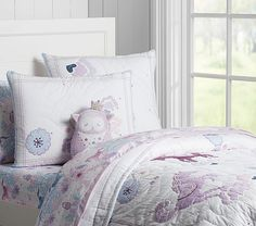 Aria Quilted Bedding | Pottery Barn Kids