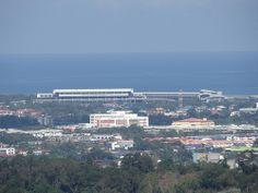 Bird's Eye View Of Terminal 1, Kota Kinabalu International Airport - http://malaysiamegatravel.com/birds-eye-view-of-terminal-1-kota-kinabalu-international-airport/