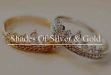 Shades of Silver & Gold