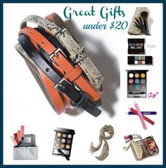 Awesome Gifts Under $20!!   http://ckurakoff.mymarkstore.com
