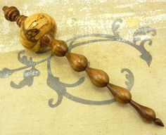 turned ornaments | Hand turned wooden Christmas ornament by StoneCreekTurnings