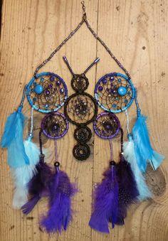 Dreamcatcher / Dream Catcher / Butterfly / by StringTheoryArtistry