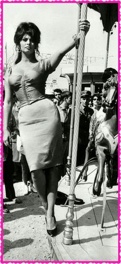 """""""Sophia Loren"""" rétrogirl"""
