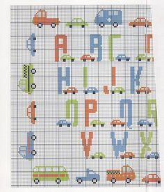 for the cars and trucks. the second page of the letters is missing anyway.