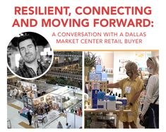 As trade shows continue to be relevant, one buyer shares why he plans to attend the first market of a fresh new year, Dallas Total Home & Gift Market this January 6-12. The buyer, Mark Snyder, talks business, product demand and the importance of the in-person experience at trade shows as we approach the end of this wild year. {Sponsored}