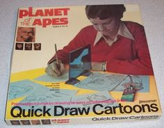 Planet of the Apes: Quick Draw Cartoons