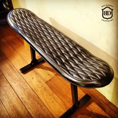 Skateboard Leather Chair from Backdrop Leathers