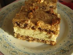 Hungarian Recipes, Cake Bars, Dessert Recipes, Desserts, Cakes And More, Cake Cookies, Nutella, Tiramisu, Muffin