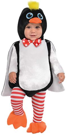 5aafd051293e Baby Boys or girls Cute Penguin Fancy Dress Costume. Perfect for Christmas,  World Book