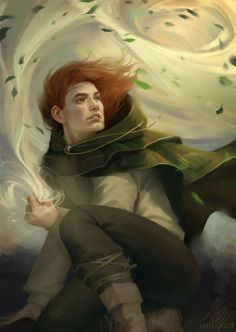 "Reading ""The Wise Man's Fear,"" book 2 of the Kingkiller Chronicles right now and this is closest to how I imagine Kvothe. Character Concept, Character Art, Character Design, Fanart, Book Characters, Fantasy Characters, Fantasy World, Fantasy Art, The Wise Man's Fear"