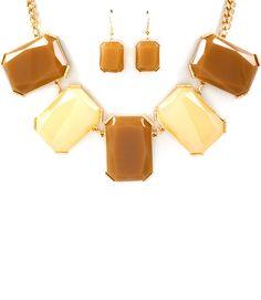TrueLov Necklace & Earring Set