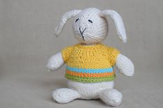 Trunk Show here at Yarn Harbor until March 22, Ravelry: Wee Ones Seamless Knit Toys pattern by Susan B. Anderson