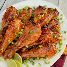 Deliciously Hot-N-Spicy !  These sweet/salty and STICKY chicken drumsticks will have you hooked from the first bite !