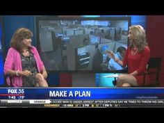 Dr. Mimi on Fox 35 news discussing how to take a vacation.