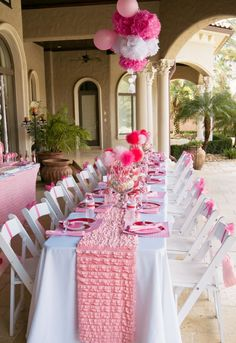 must get ruffles for table coverings from Hobby Lobby in ALL colors genius and gorgeous- hrk