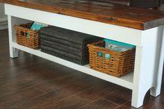 Urbane Jane – DIY storage farm bench.