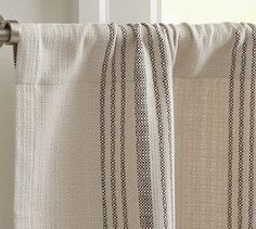 Captivating French Stripe Cafe Curtain #potterybarnu002619.99. Cafe CurtainsPottery BarnWindow  ...