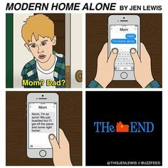 It would have been a much shorter story! #HomeAlone #XmasTime #Kevin
