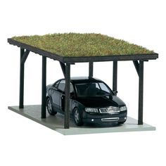 CARPORT WITH GREEN ROOF