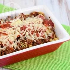 Recipe Picture:Easy Beef and Tomato Pasta Bake