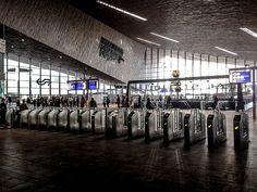 Entrance Rotterdam central station