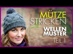 Ana Kraft- Wintermütze mit Zopfmuster stricken *TEIL 1*