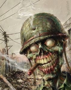 ZOMBIE Sarge War of the Dead by TheGurch on deviantART