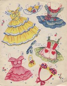 Patty's Party 1950s Paper Dolls - Kathy - Picasa Web Albums