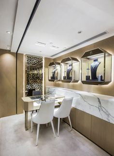 Contemporary and Luxury Jewellery Boutique Design