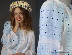 handmade embroidery - Romanian blouse - ie romaneasca