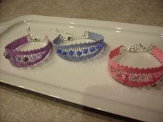 Lace Necklace, Lace Jewelry, Types Of Lace, Denim And Lace, Bobbin Lace, Crochet, Bracelets, Creations, Jewelry Making