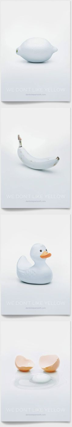 We do(n't) like yellow Black And White, Pure White, Snow White, Brand Packaging, Graphic Design Illustration, Poster Prints, Posters, All Design, Creative Inspiration