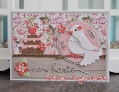 Birthday Cards, Happy Birthday, Pocket Letters, Marianne Design, Atc, Cardmaking, Lettering, Frame, How To Make