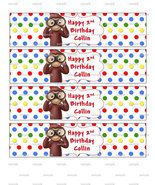 Curious George Birthday Party Water Bottle Labe... - $3.99