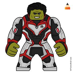Learn Drawing Lego Avengers Endgame with this step-by-step tutorial and video. Lego Hulk, Lego Batman, Lego Marvel, Captain Marvel, Simpsons Drawings, Drawing Cartoons, Lego Thanos, Baby Toothless, Adventure Time Drawings