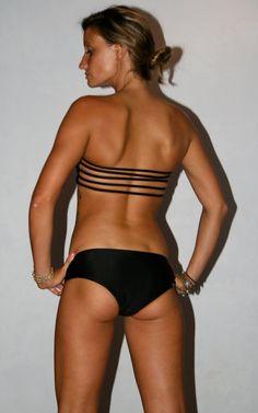 The JULES STRAPLESS BIKINI top by IMSYSwimwear on Etsy