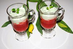 O kuchni z uczuciem : Deser FIT z truskawkami i młodym jęczmieniem