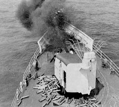 United States Coast Guard Cutter, Mellon 717 giving fire support during it's WESTPACK Deployment Coast Guard Ships, Brown Water Navy, Coast Guard Cutter, United States Navy, Sea And Ocean, Vietnam War, Boats, Fighter Jets, Military