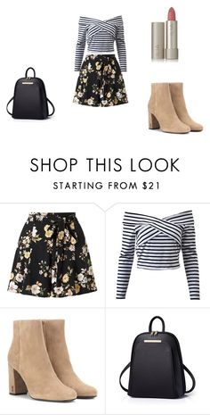 """Cute"" by grace-dxvii on Polyvore featuring Miss Selfridge, Yves Saint Laurent and Ilia"