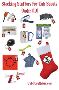 Cub Scout Stocking Stuffers Under $10