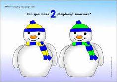 Winter counting playdough mats (SB3443) - SparkleBox