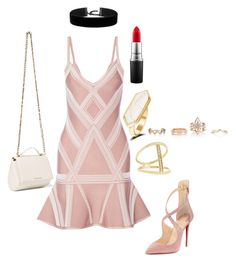 """""""Date night edit"""" by nimotalai on Polyvore featuring Sydney Evan, New Look, Givenchy, MAC Cosmetics and Christian Louboutin"""