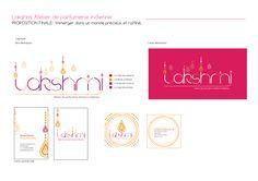 Marie CONSEIL - Lakshmi - #Identité #graphique pour une boutique de #parfums aux senteurs #indiennes