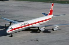 Canadian Airlines, Douglas Dc 8, Air Transat, Douglas Aircraft, Passenger Aircraft, Air Photo, Airline Flights, Commercial Aircraft, Aviation