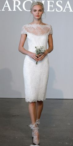 Marchesa Spring 2015 Bridal Collection - Marchesa from #InStyle dress collection, wedding dressses, the dress, rehearsal dinner dresses
